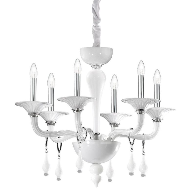 Chandelier MIRAMARE SP6 White