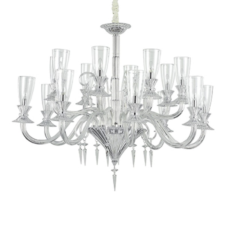 Chandelier BEETHOVEN SP16 Transparent