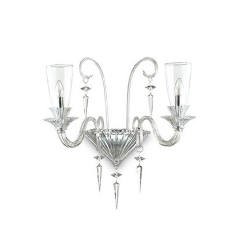 Wall lamp BEETHOVEN AP2 Transparent