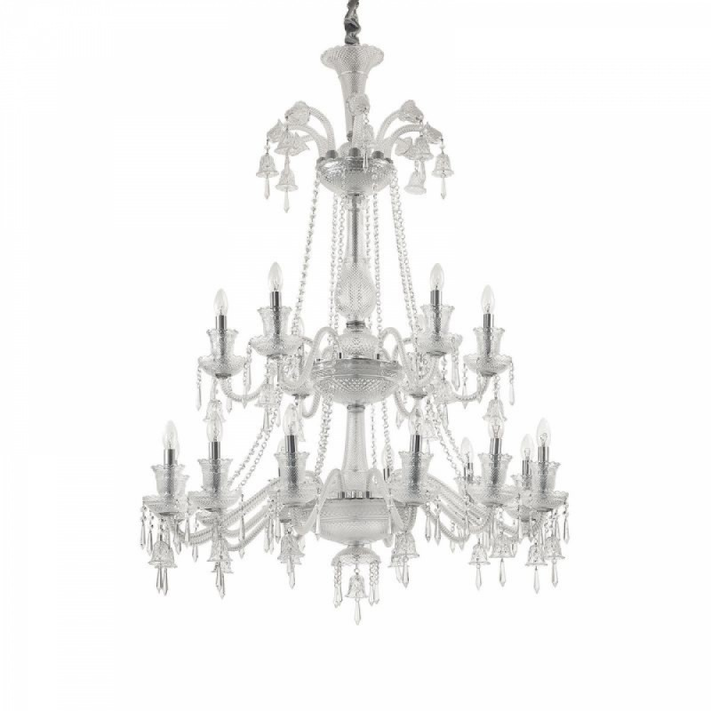 Chandelier REDENTORE SP18 Transparent