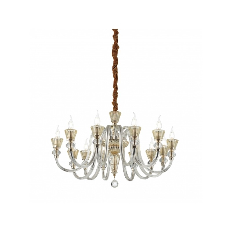 Chandelier STRAUSS SP12 Gold