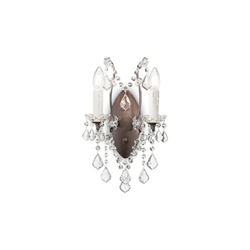 Wall lamp LIBERTY AP2 Transparent