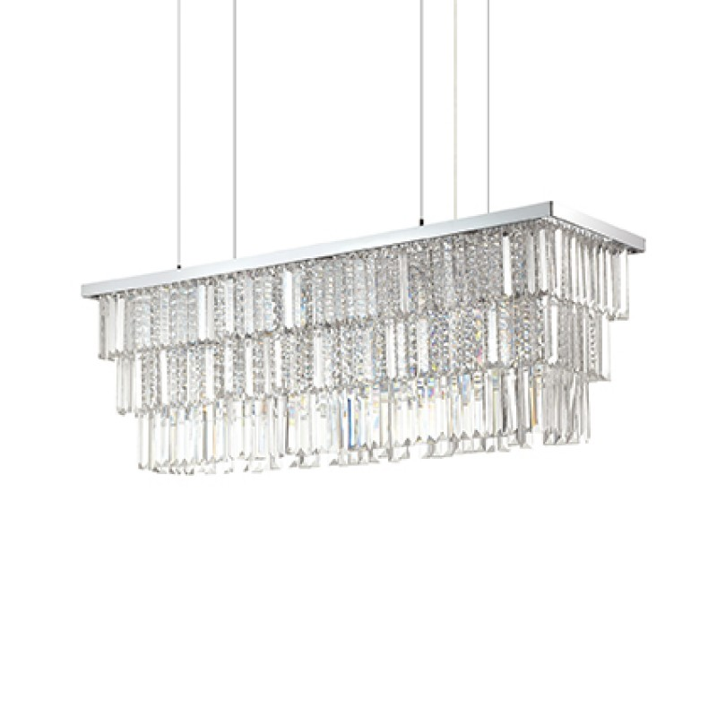 Chandelier MARTINEZ SP8 Chrome