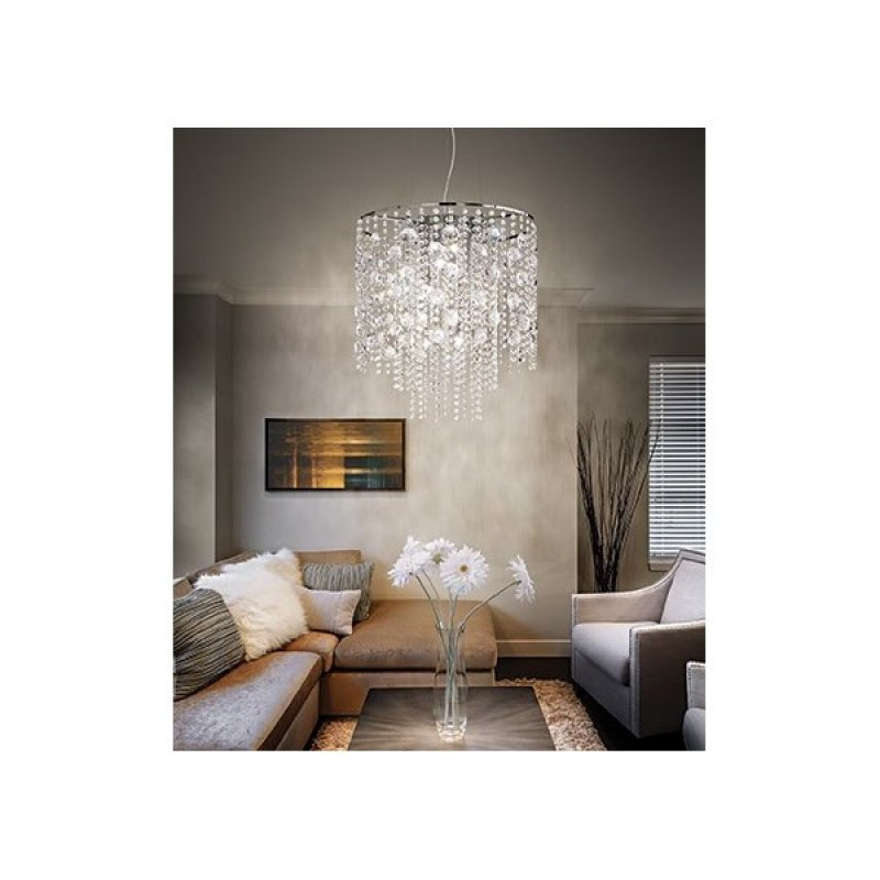 Chandelier EVASIONE SP10 Chrome