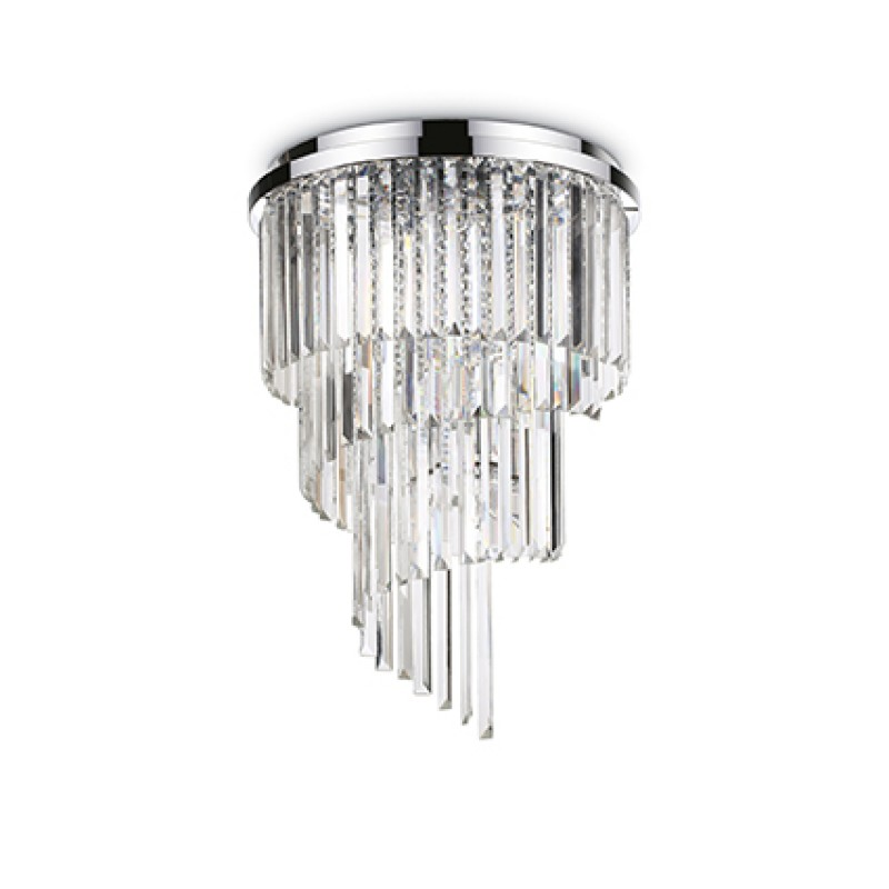 Ceiling lamp CARLTON PL12 Chrome