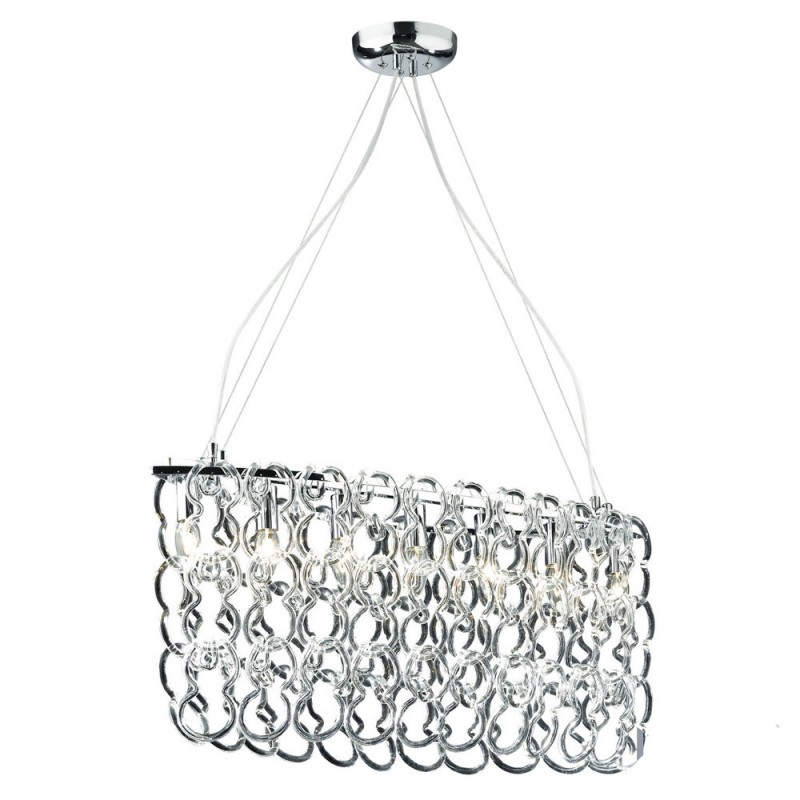 Chandelier ALBA SP7 Oval Chrome