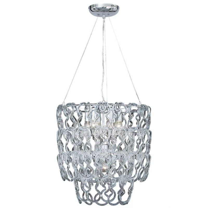 Chandelier ALBA SP7 Round Chrome