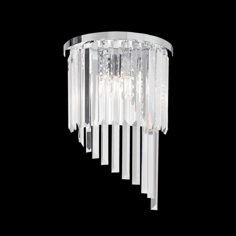 Wall lamp CARLTON AP3 Chrome