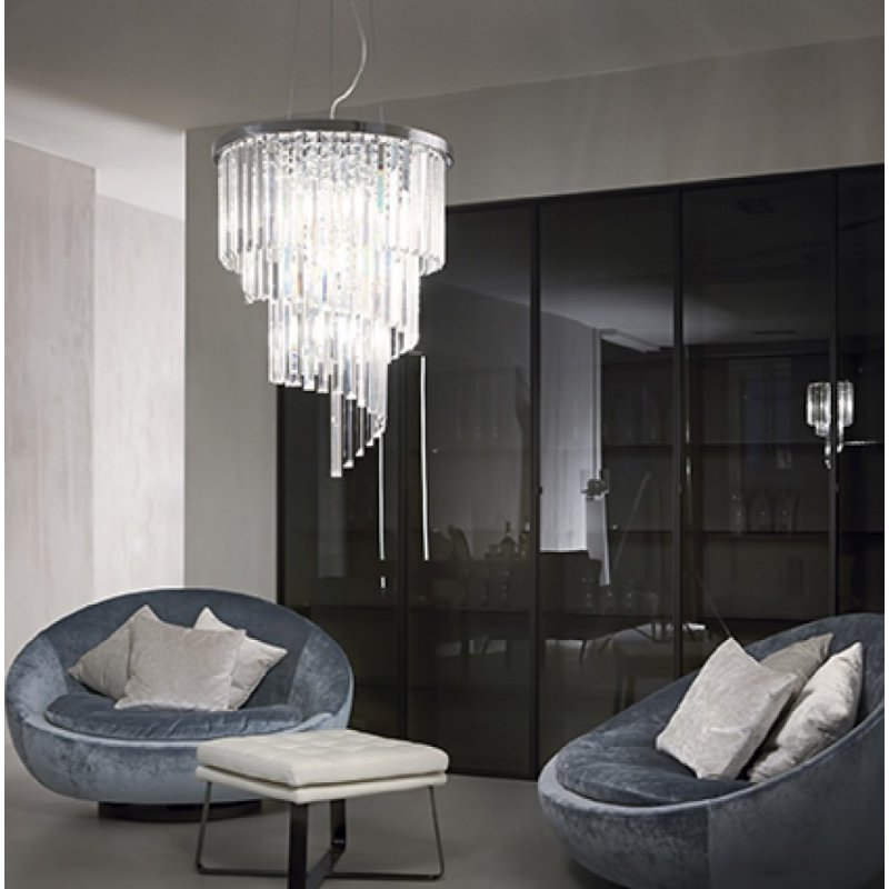 Chandelier CARLTON SP12 Chrome