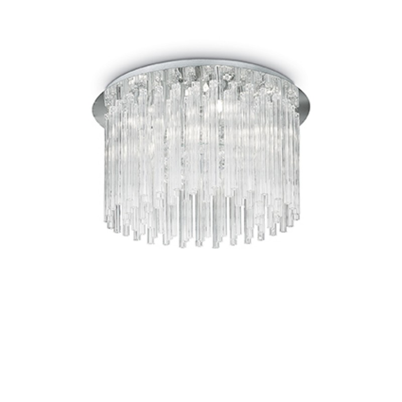 Ceiling lamp ELEGANT PL8 Chrome