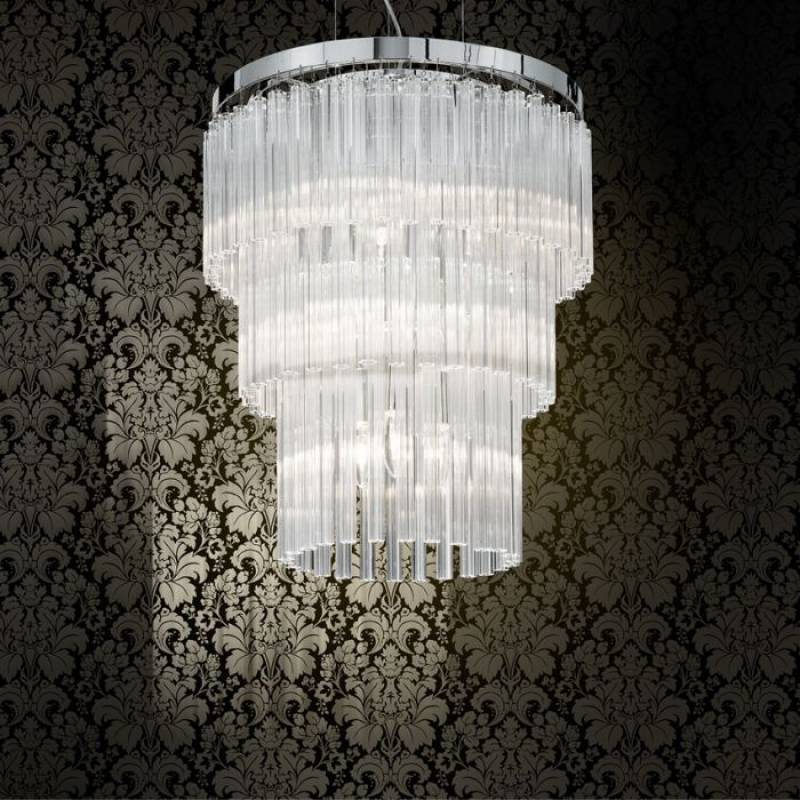 Chandelier ELEGANT SP12 Chrome