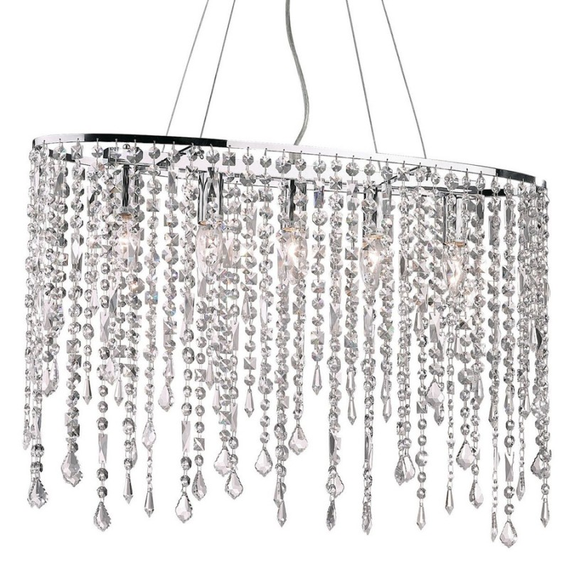 Pendant lamp RAIN CLEAR SP5 Chrome