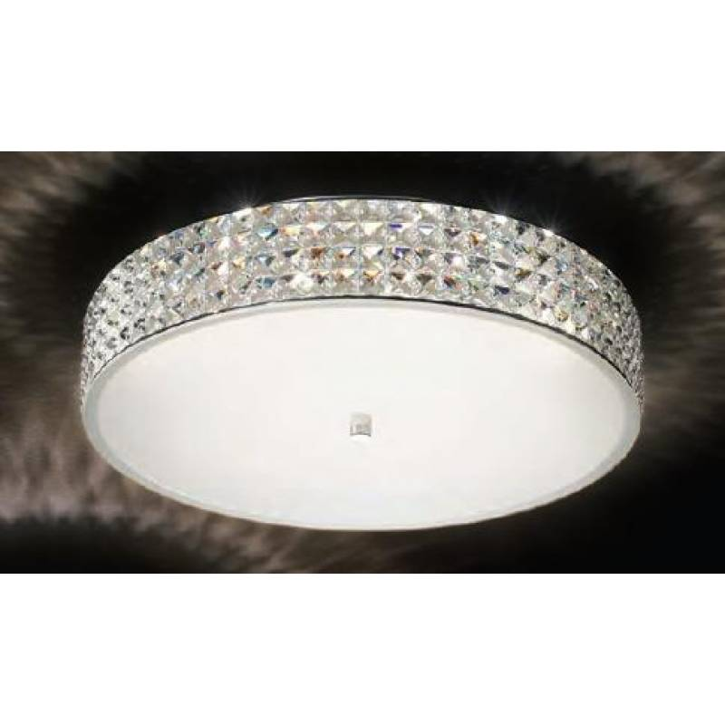 Ceiling lamp ROMA PL9 White