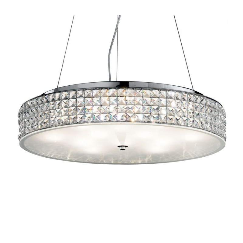 Pendant lamp ROMA SP12 Chrome