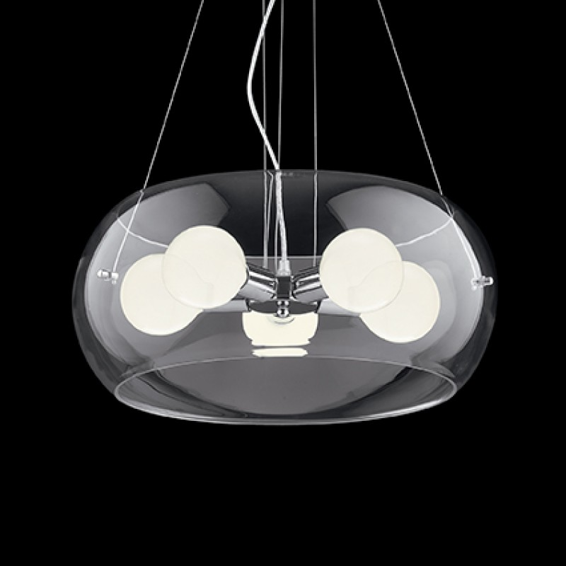 Pendant lamp AUDI-10 SP5 Transparent