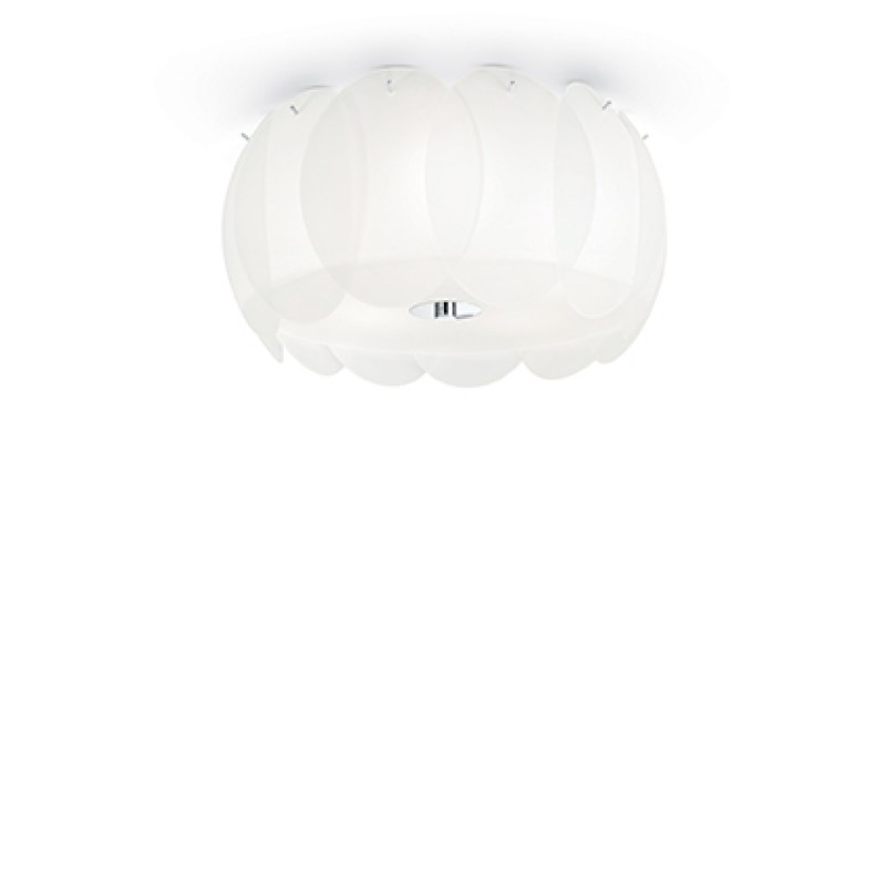 Ceiling lamp OVALINO PL5 White