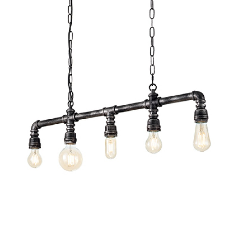 Pendant lamp PLUMBER SP5 Black