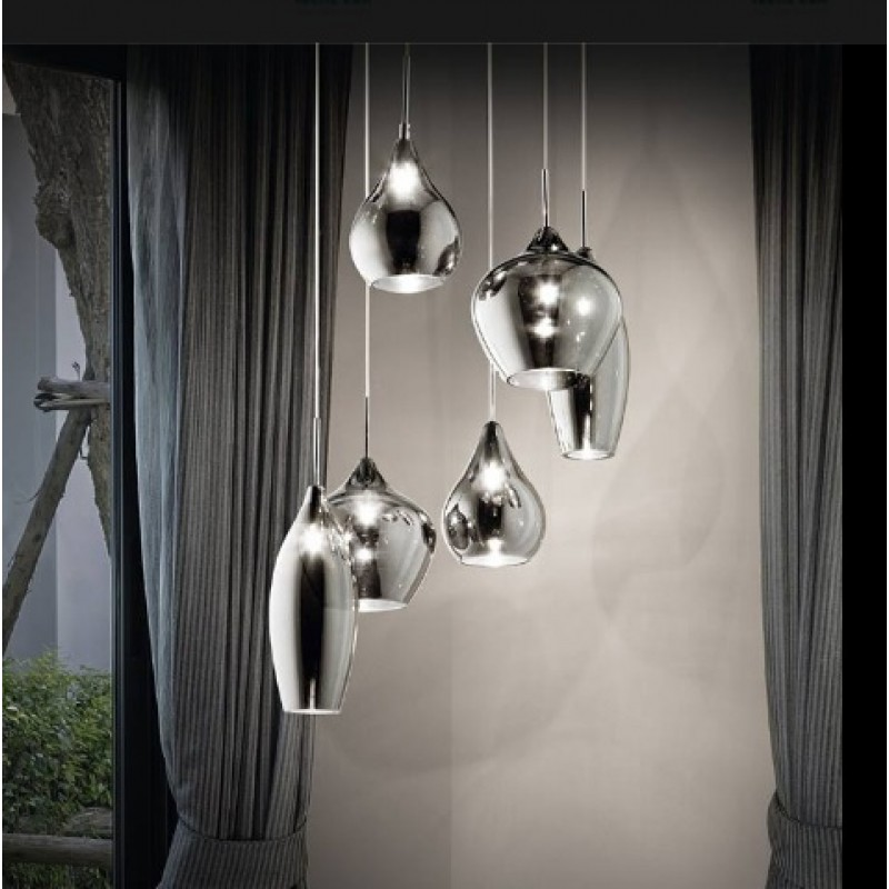 Pendant lamp SOFT S6 White