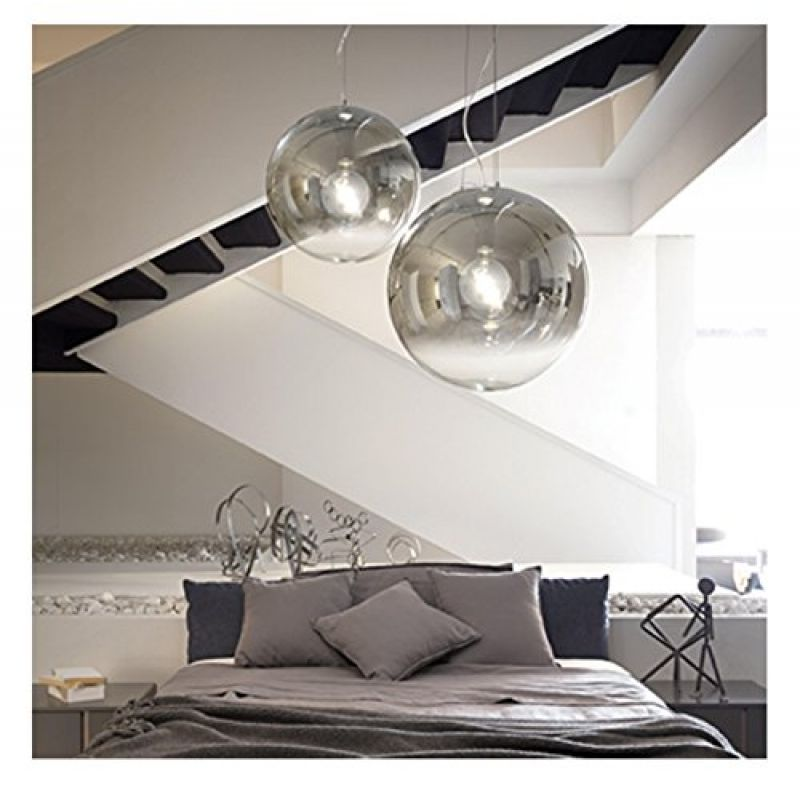 Pendant lamp MAPA FADE SP1 D30 Chrome