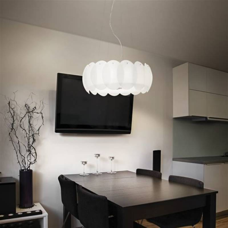 Pendant lamp OVALINO SP5 White