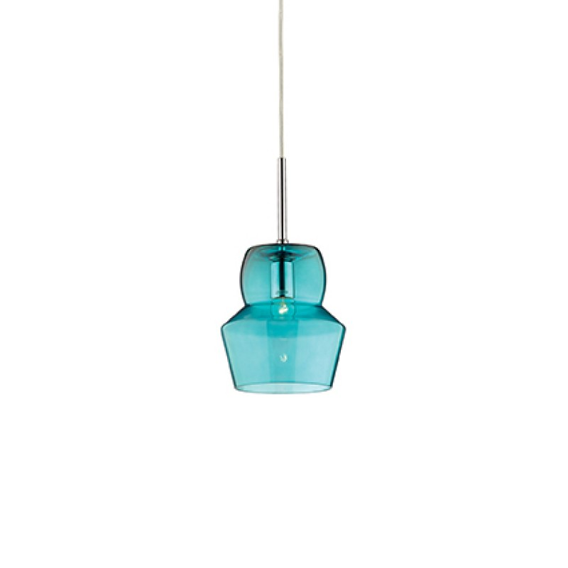 Pendant lamp ZENO SP1 SMALL Light Blue