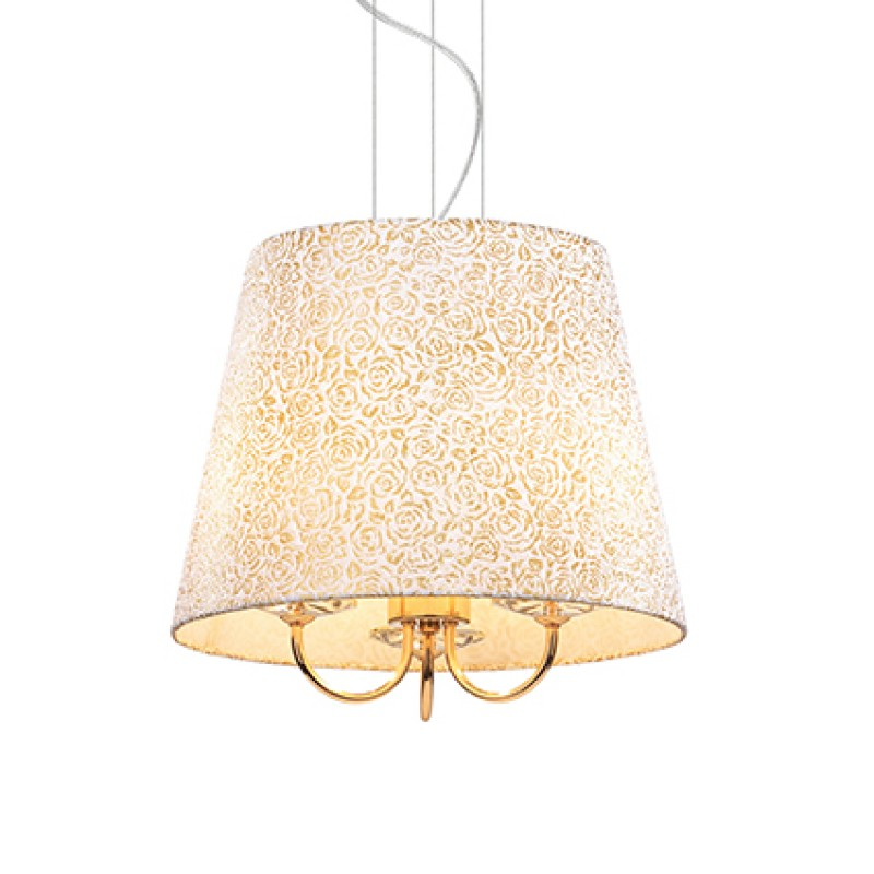 Pendant lamp QUEEN SP3 Gold