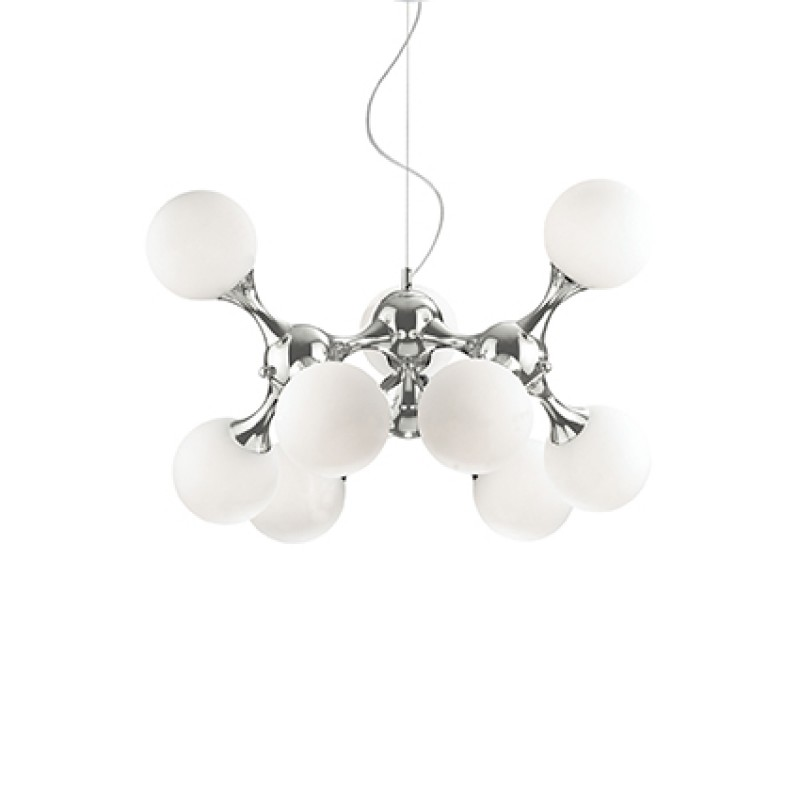 Pendant lamp NODI BIANCO SP9 Chrome