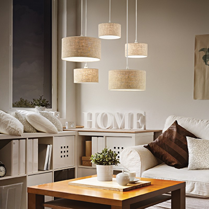 Pendant lamp EKOS SP5 White