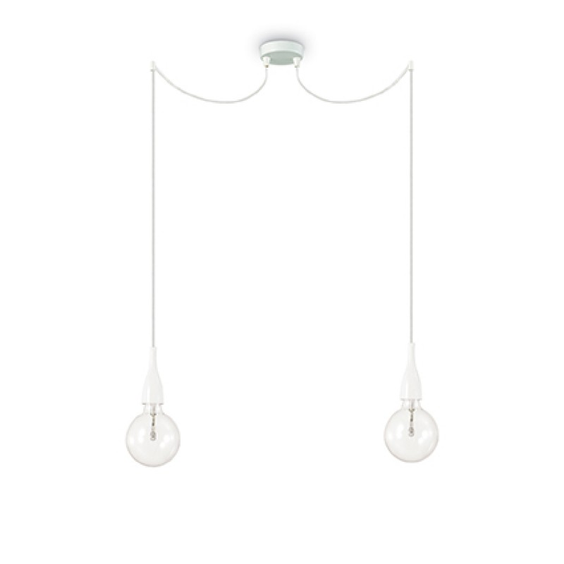 Pendant lamp MINIMAL SP2 White