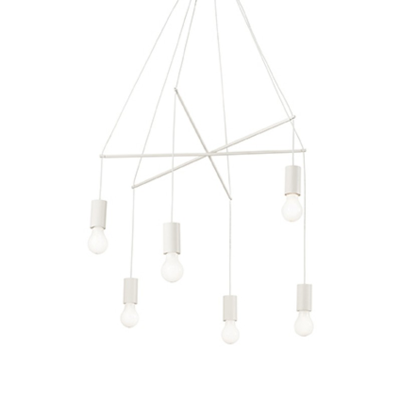 Pendant lamp POP SP6 White