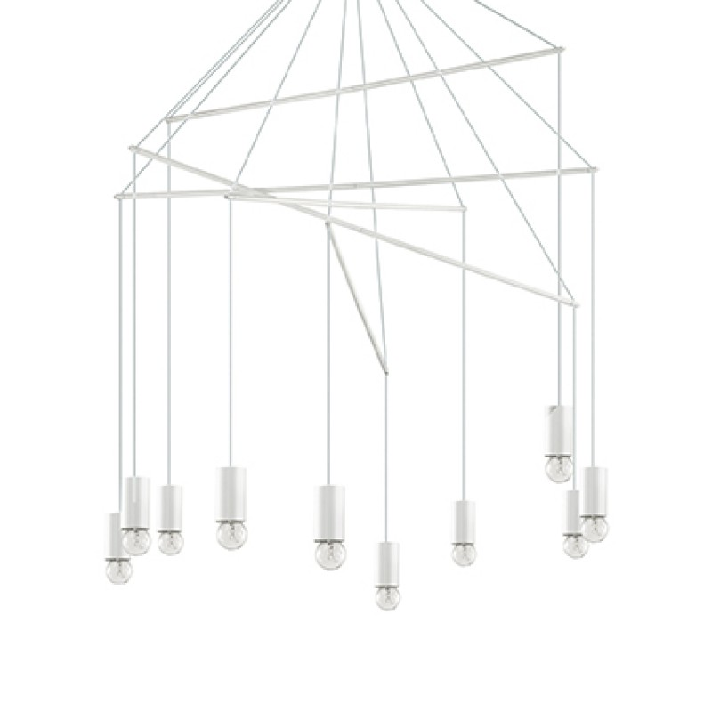 Pendant lamp POP SP10 White