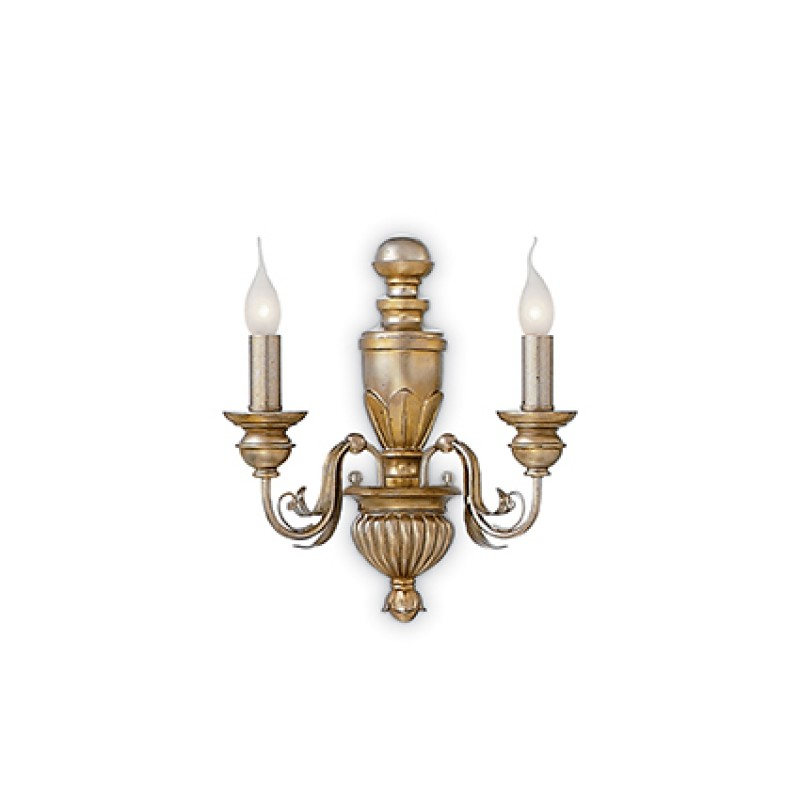 wall lamp DORA AP2 Antique Gold