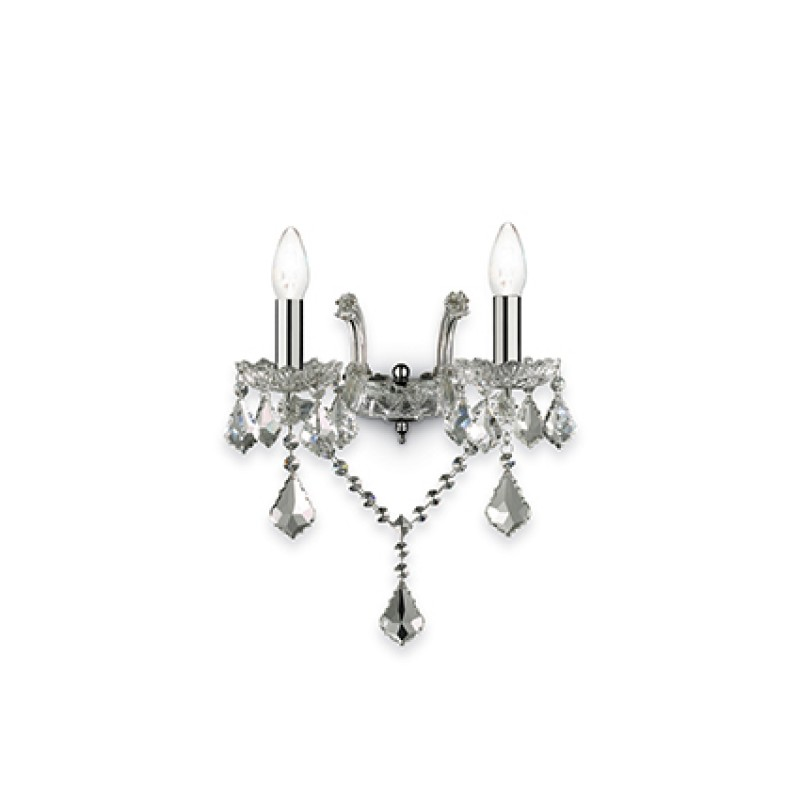 wall lamp FLORIAN AP2 Chrome