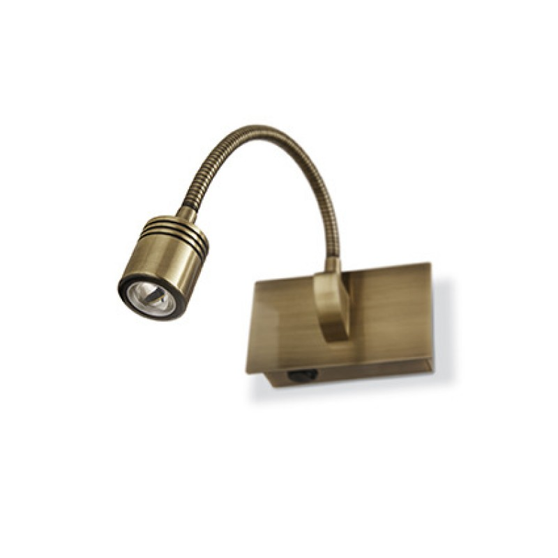 Wall lamp DYNAMO AP1 Antique Brass
