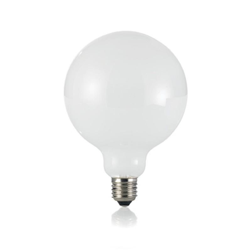 LED Bulb CLASSIC E27 8W GLOBO D125 BIANCO 3000K, Ø...
