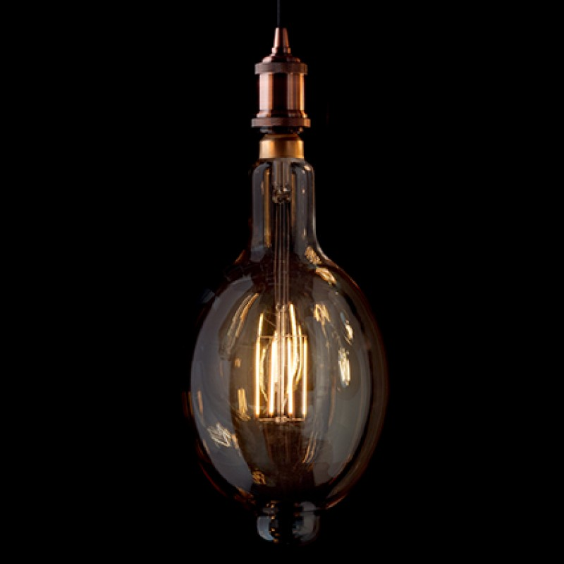 LED Bulb Vintage XL Bomb E27, Ø 18 cm