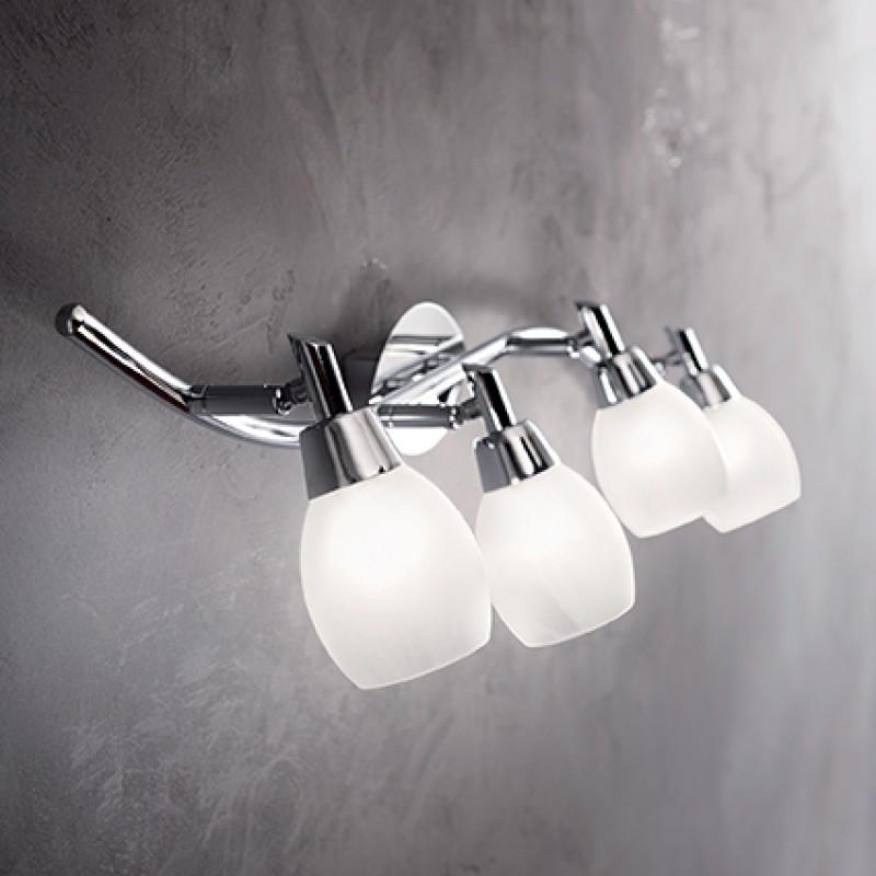 Ceiling lamp SOFFIO PL4 Chrome