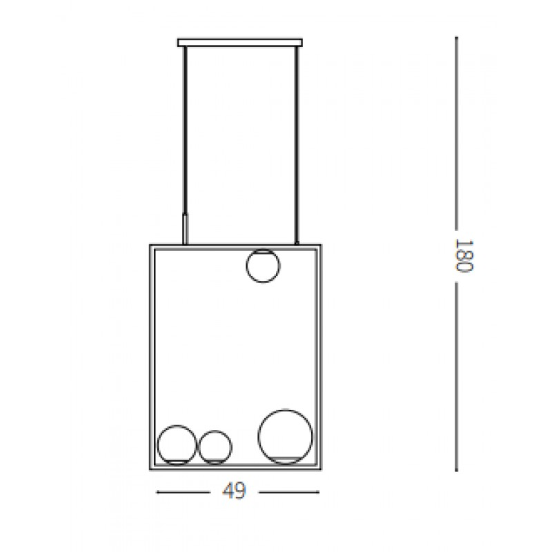 Pendant lamp - CULTO SP4
