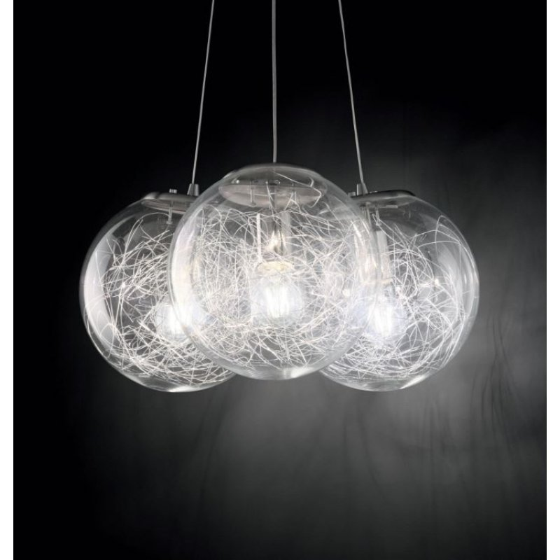 Pendant lamp - MAPA SAT SP3 Ø 55 cm