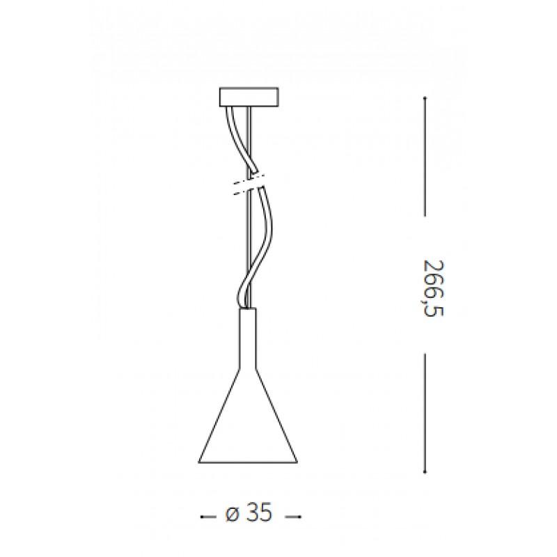 Pendant lamp - COCKTAIL SP1 BIG Ø 35 cm