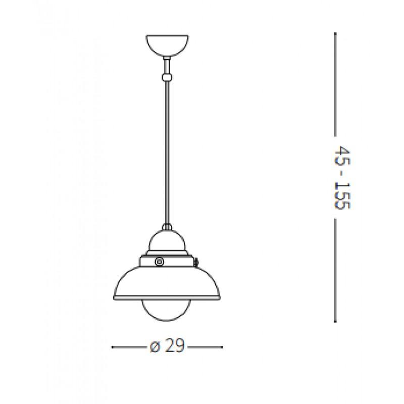 Pendant lamp - SAILOR SP1 Ø 29 cm