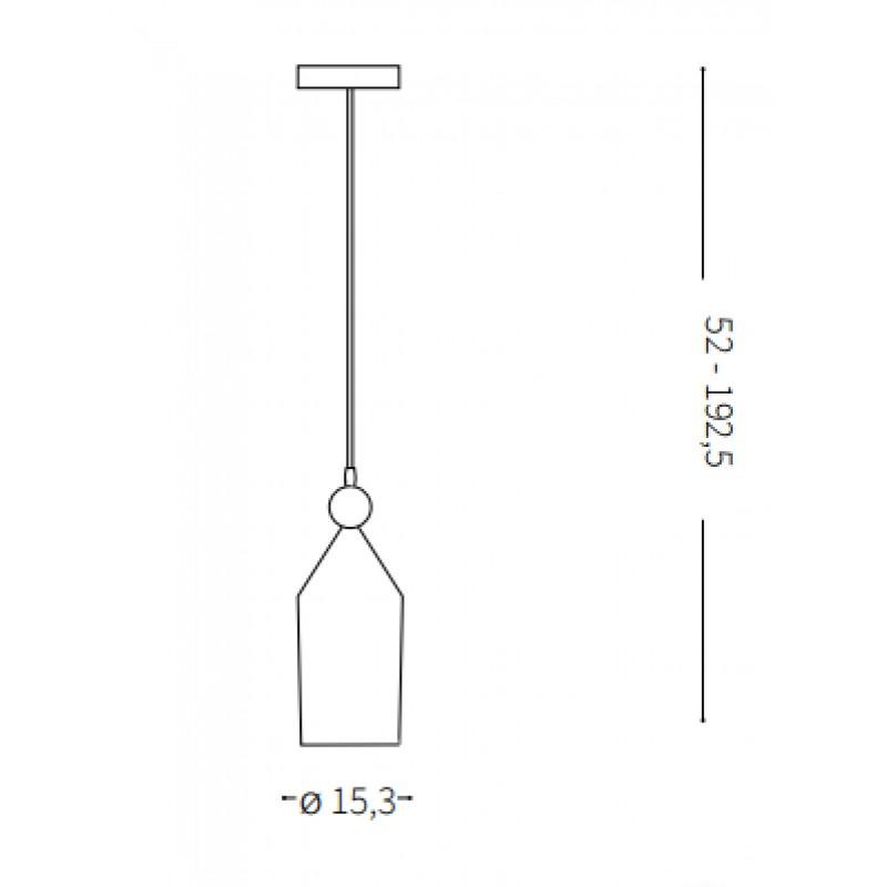 Pendant lamp - TRIADE-1 SP1 Ø 15,5 cm