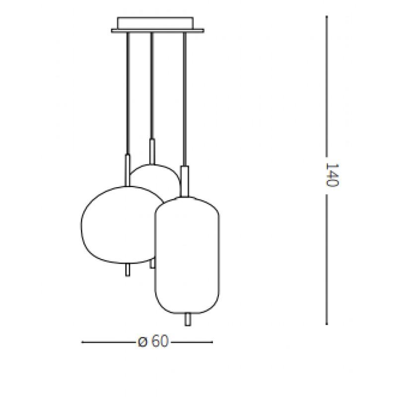 Pendant lamp - UMILE SP3