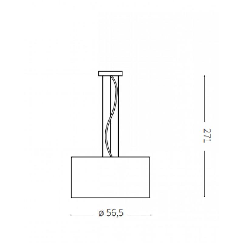 Pendant lamp - WHEEL SP5 Ø 56,5 cm