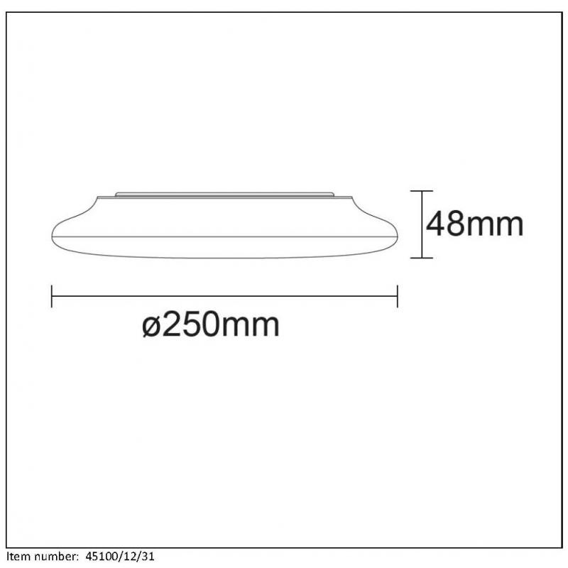 Ceiling lamp TOSIS LED