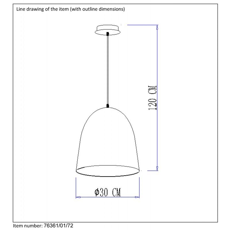 Pendant lamp WOODY