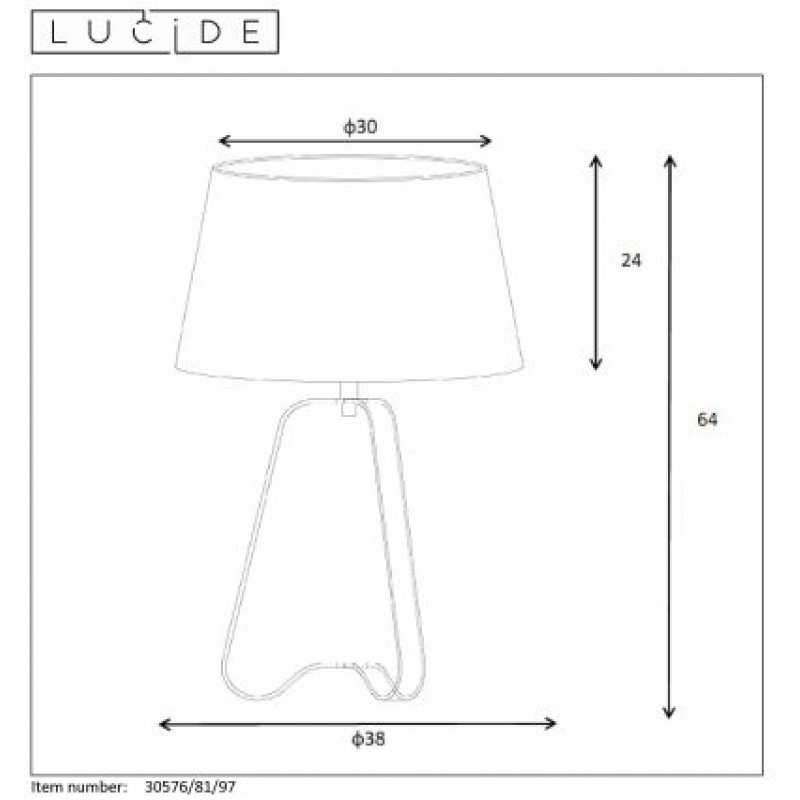 Table lamp CAPUCINO