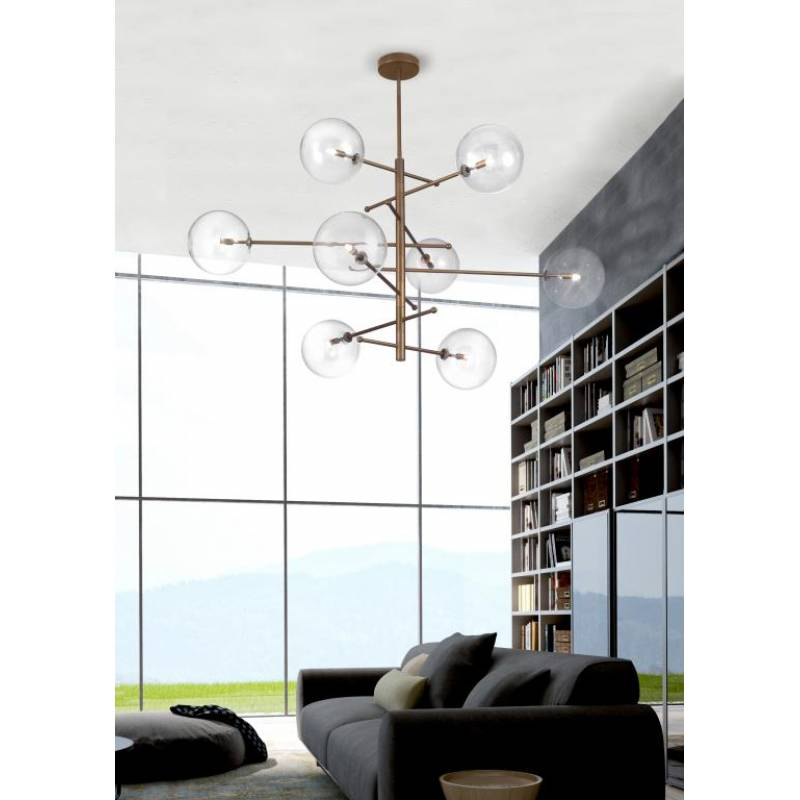 Suspension lamp ESTRO Ø 105 cm
