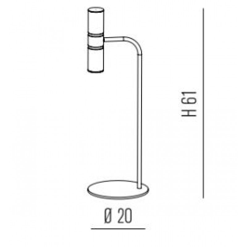 Table lamp TURBO
