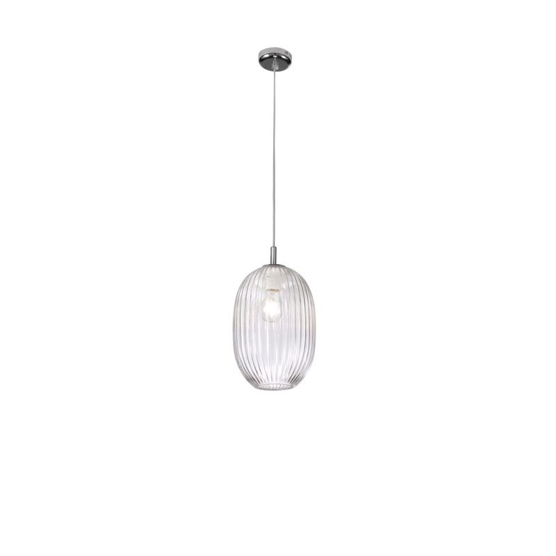 Suspension lamp NEST OVAL Ø 19 cm